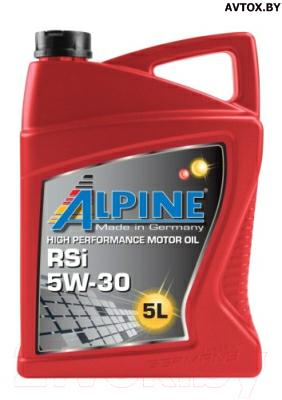 Моторное масло ALPINE RSi 5W30, 0101623, 5л