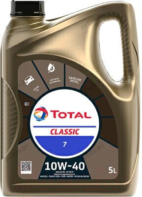 Масло моторное TOTAL CLASSIC 10W-40, 5л