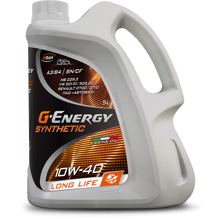 Масло G-Energy Synthetic Long Life 10W-40 5л 253142396