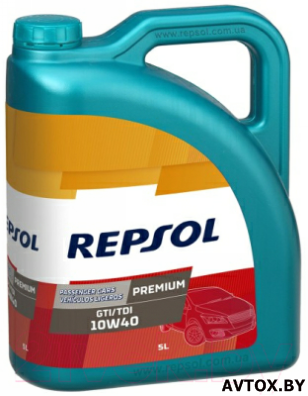 Моторное масло Repsol Premium GTI/TDI 10W40 / RP080X55, 5л