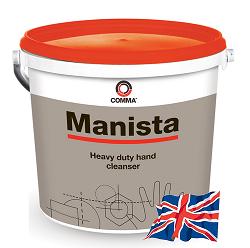Натуральное моющее средство для рук COMMA MANISTA, 10л. паста для рук, обогащено лосьоном с ланолином